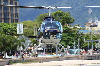 VH-BHU GREAT BARRIER REEF HELICOPTERS BELL-206