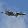 The F15E Strike Eagle Demo Team from Seymour Johnson AFB in Goldsboro, N.C.