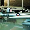 de Havilland DH100 Vampire tail booms