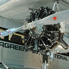 Ford Trimotor 5-AT-B 1928 engine left
