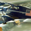 Beechcraft D-17A Traveler 1939 side lf