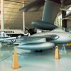 De Havilland DH100 FB9 Vampire 1966 side rt