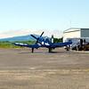 Chance Vought F4U-7 Corsair rear