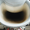 Chance Vought A7 Corsair II air intake