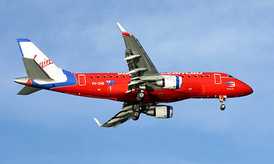 VH-ZHB VIRGIN BLUE EMB-170