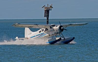 VH-PCF CAIRNS SEAPLANES DE HAVILLAND DHC-2 BEAVER