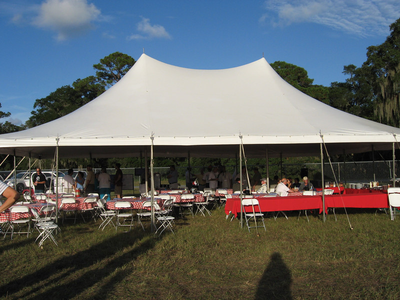 The big tent BBQ party