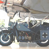 BMW 1943 Motorcycle w sidecar side lf