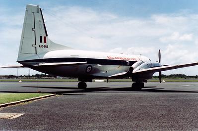 A10-608 RAAF HS-748