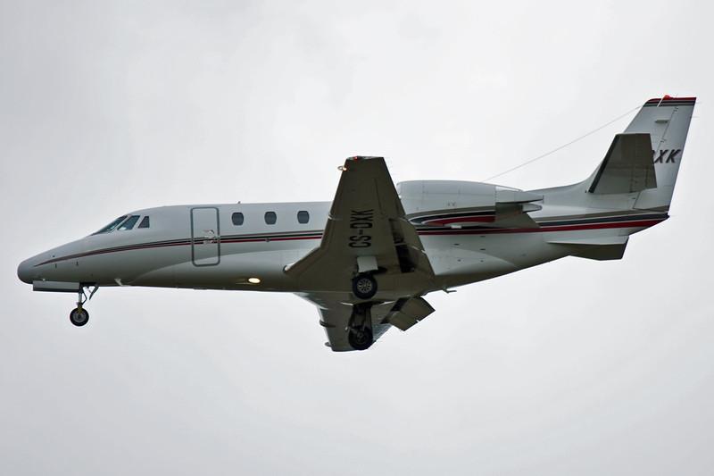 NetJets Europe Cessna 560XLS Citation Excel CS-DXK.<br /> By David Bladen.
