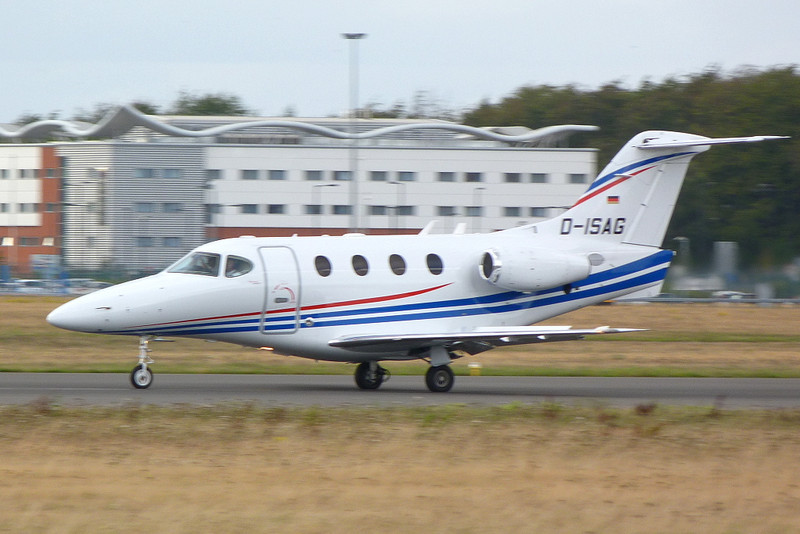 Hawker Beechcraft 390 Premier IA D-ISAG.<br /> By Clive Featherstone.