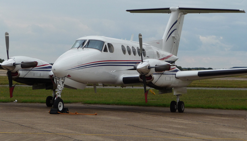 Dragonfly Aviation Services Beech 200 Super King Air G-LIVY<br /> By Correne Calow