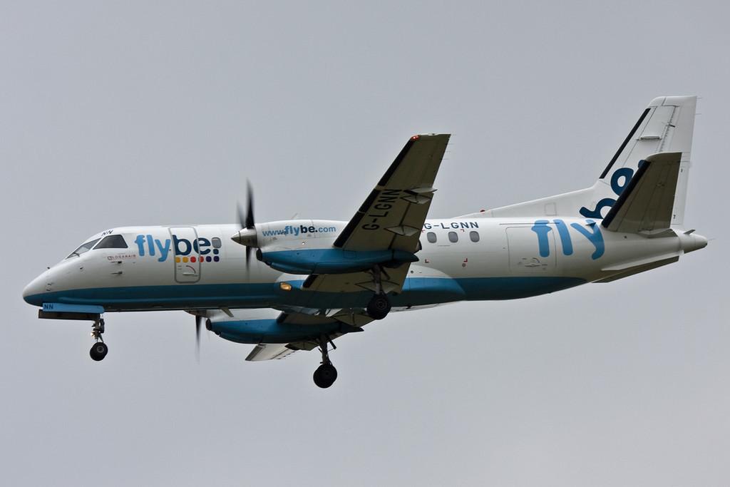 Flybe (Loganair) Saab-340 G-LGNN<br /> By David Bladen