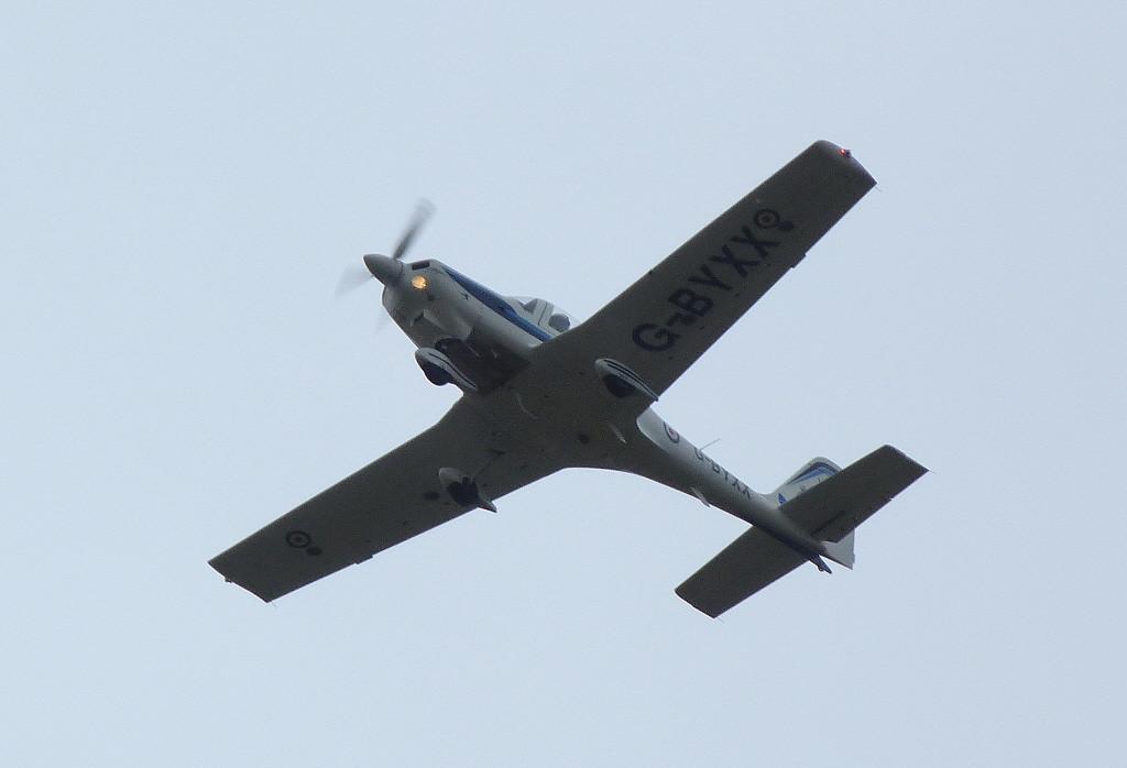 RAF Grob Tutor T1 G-BYXX<br /> By Clive Featherstone