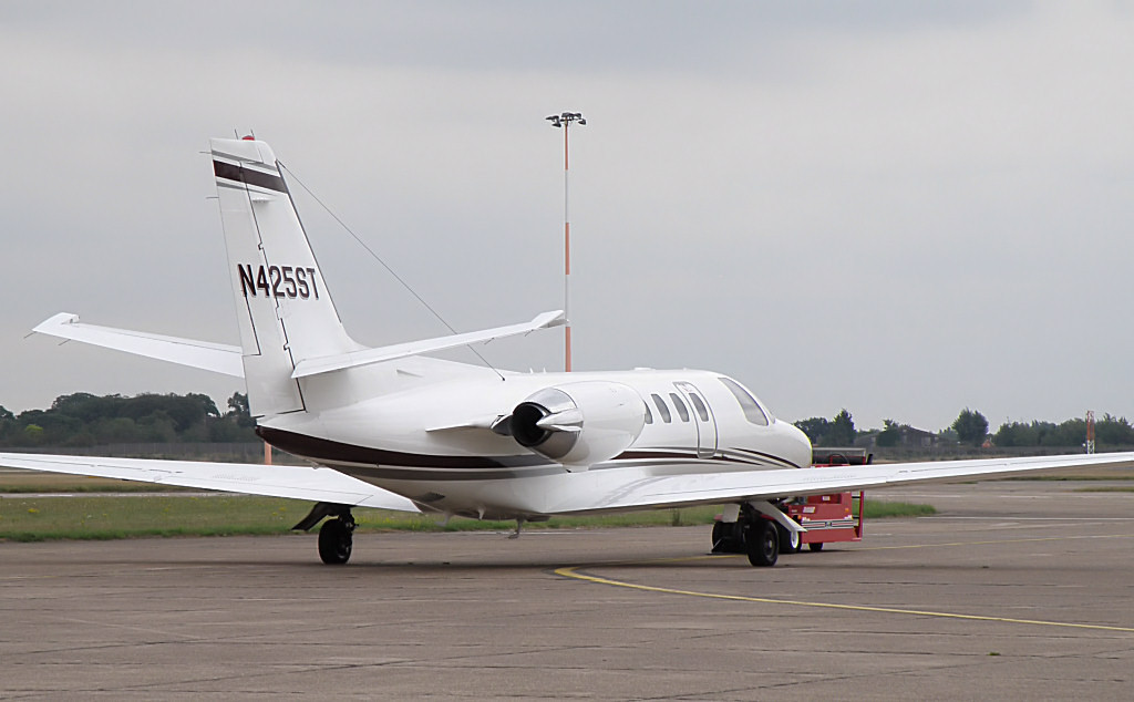 Cessna 550 Citation II  N425ST<br /> By Correne Calow