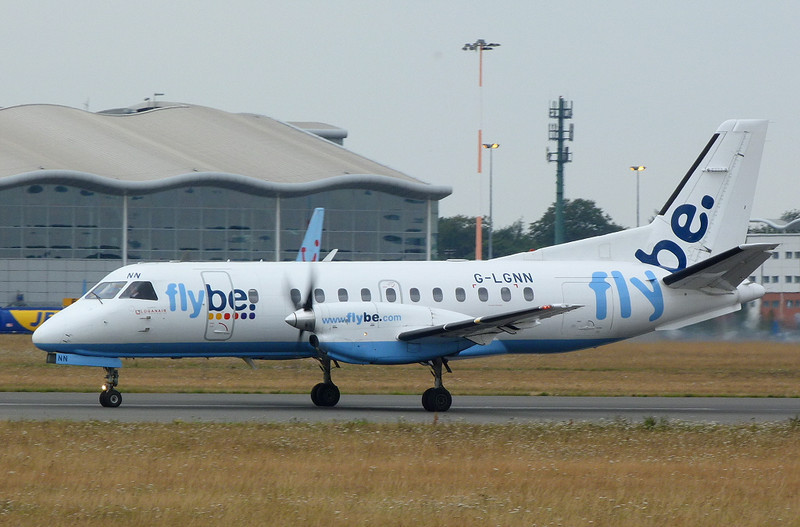 Flybe (Loganair) Saab-340 G-LGNN<br /> By Clive Featherstone.