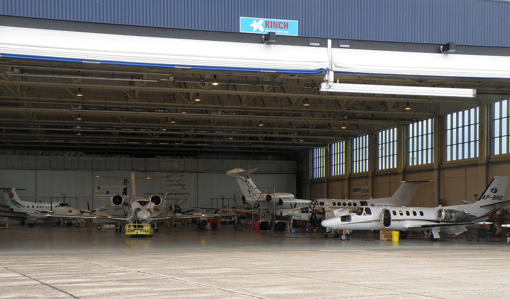 Kinch Aviation Hangar <br /> By Correne Calow