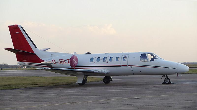 247 Jet Ltd Cessna 550B Citation Bravo G-JBLZ. By Correne Calow