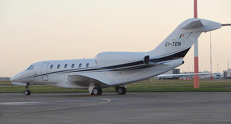 Cessna 750 Citation X EI-TEN. By Correne Calow