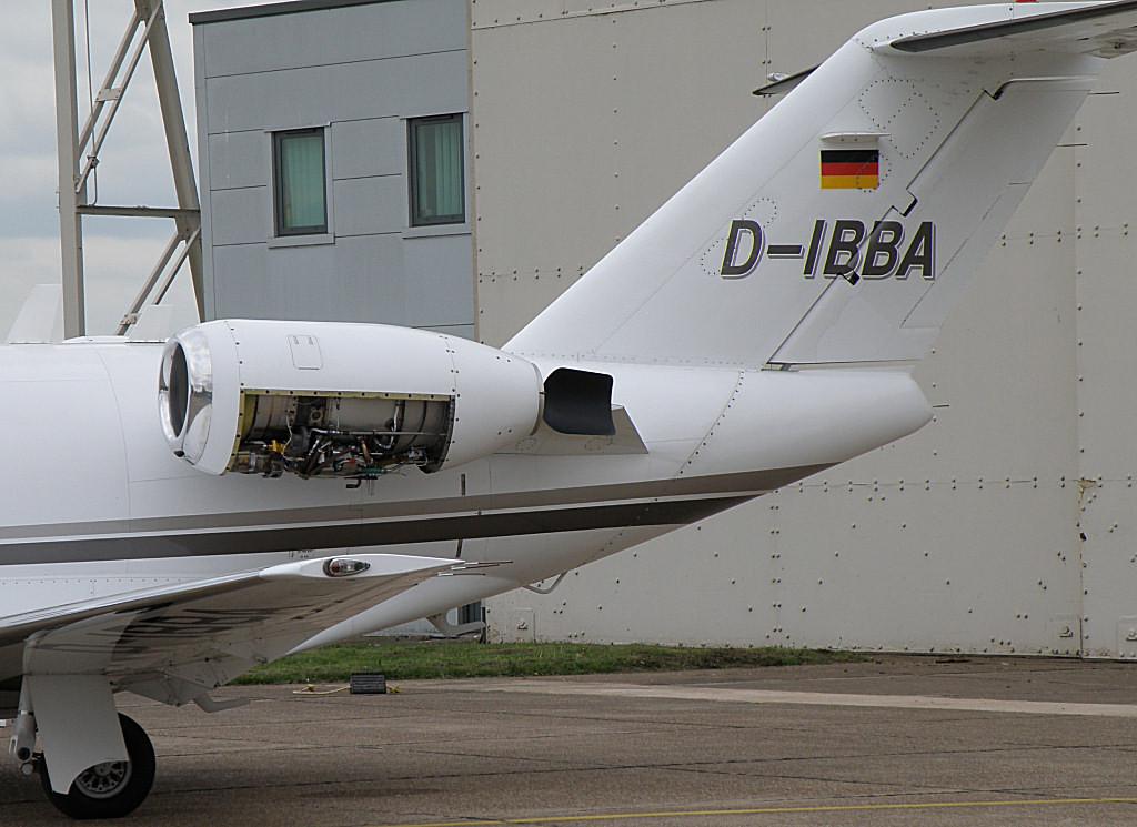 Cessna 525 CitationJet  D-IBBA<br /> By Correne Calow.