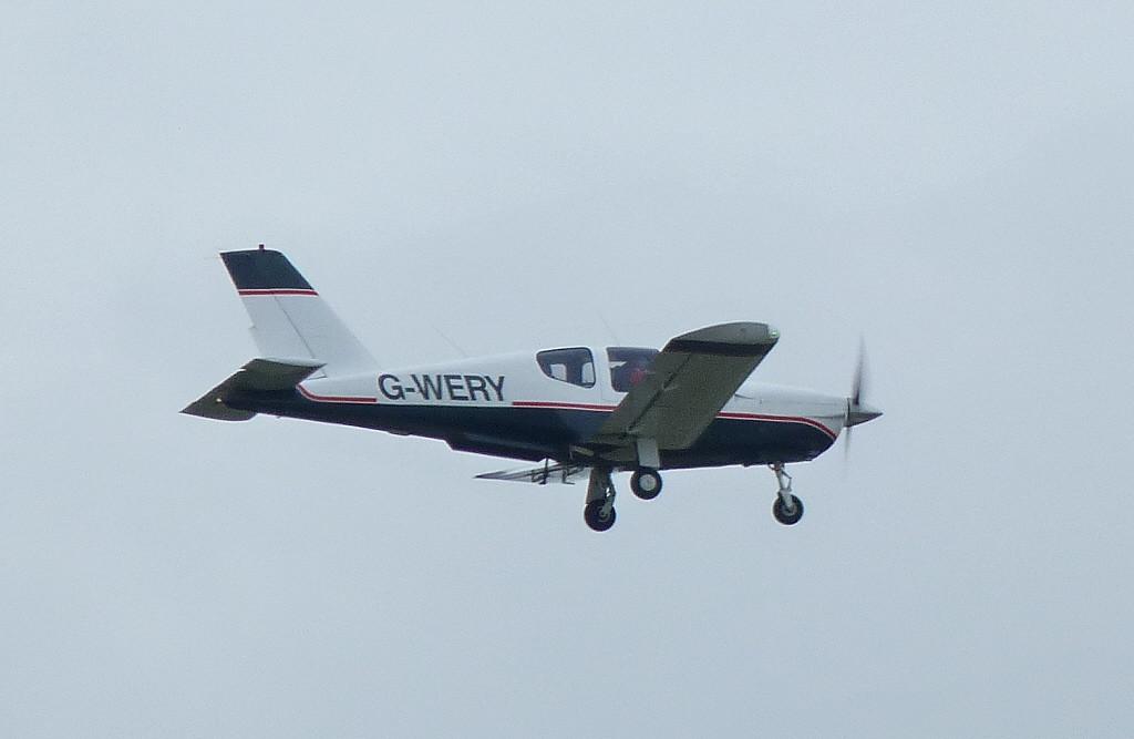 Socata TB-20 Trinidad  G-WERY<br /> By Clive Featherstone.