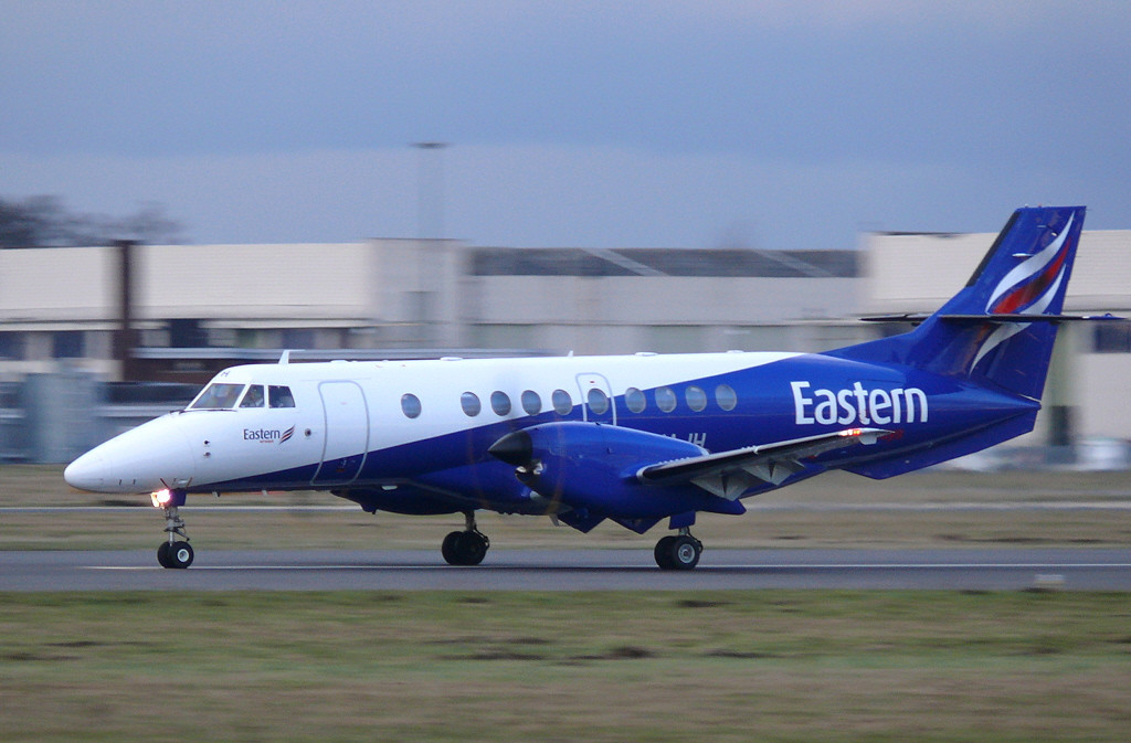 Eastern Airways Jetstream 41 G-MAJH (first visit) <br /> By Clive Featherstone.