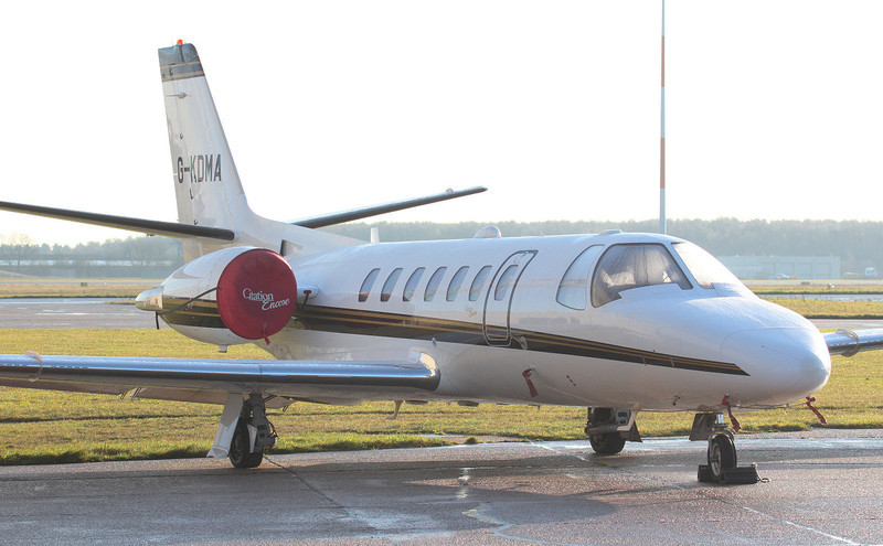 Cessna 560 Citation Encore G-KDMA.<br /> By Jim Calow.