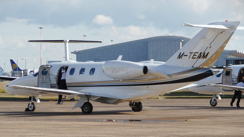 Cessna 525 CitationJet CJ1+ M-TEAM<br /> By Jim Calow.