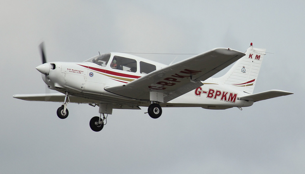 Piper PA-28-161 Warrior II G-BPKM<br /> By Jim Calow.