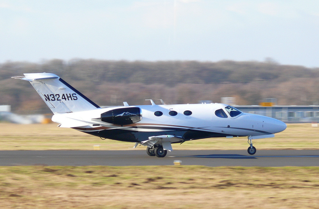 Citation 510 Mustang N324HS<br /> By Clive Featherstone