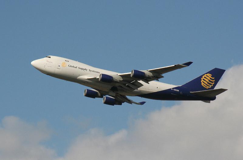 Global Supply 747-400 G-GSSB.<br /> By Graham Vlacho.