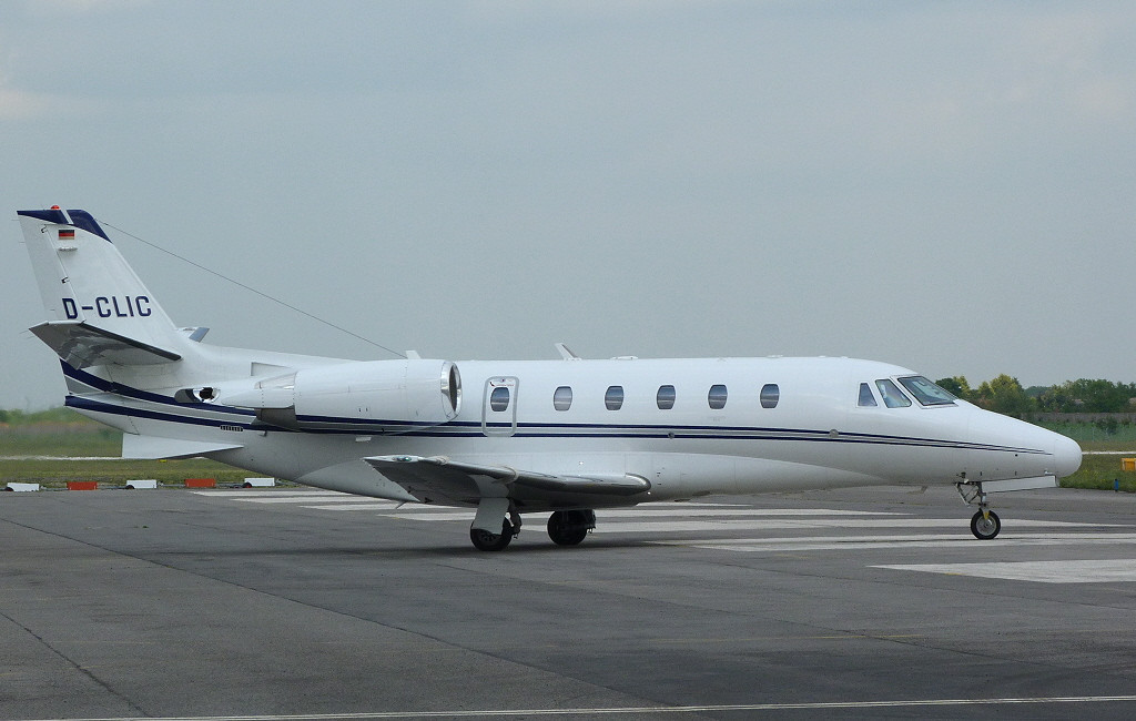 Citation 560XLS D-CLIC <br /> By Clive Featherstone.
