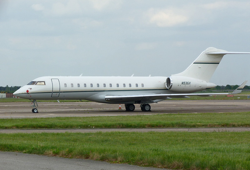 Global Express N53GX<br /> By Clive Featherstone.