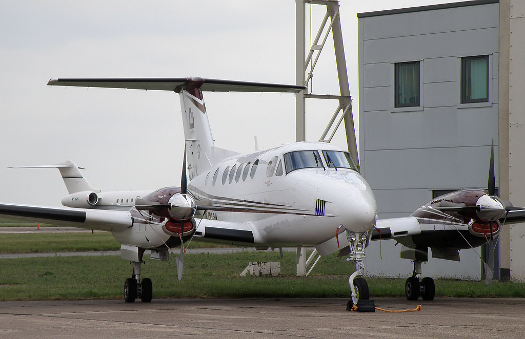 Beech 200 Super King Air M-EGGA<br /> By Correne Calow.