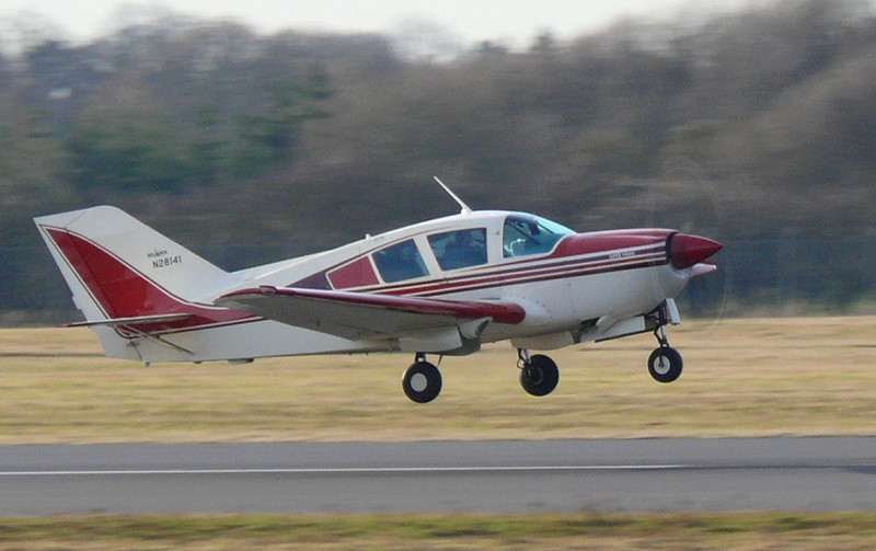 First of type BL17 Bellanca N281411<br /> By Clive Featherstone.