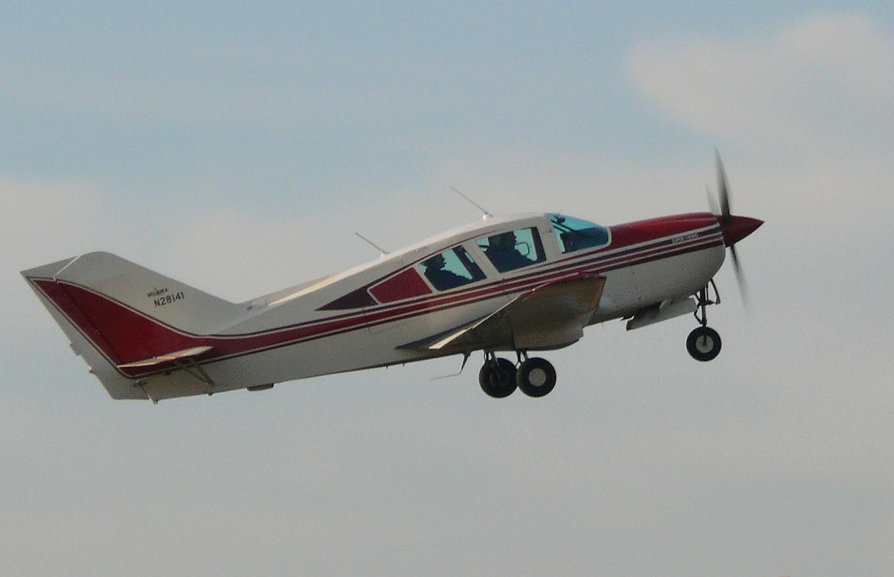 BL17 Bellanca N281411<br /> By Clive Featherstone.
