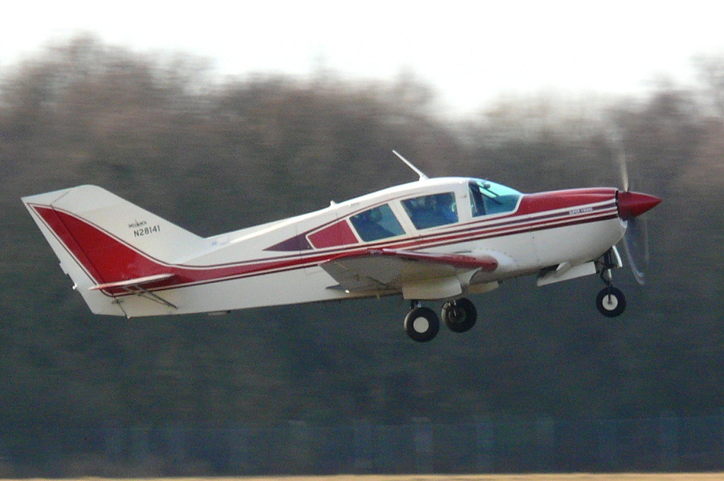 BL17 Bellanca N281411 (first of type)<br /> By Clive Featherstone.