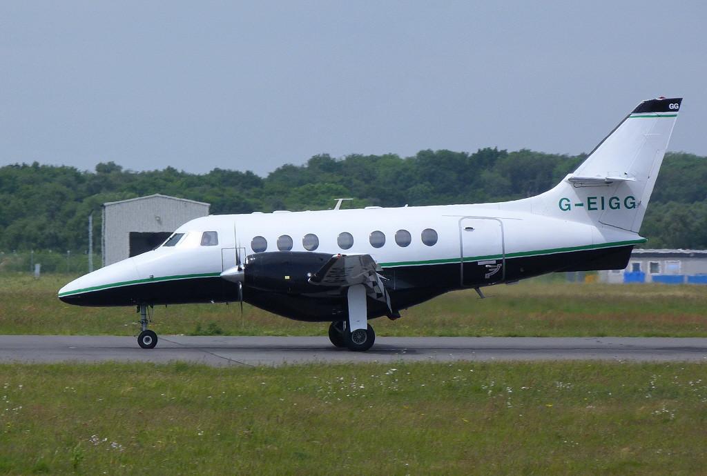 Bravo Leasing  Jetstream 31  G-EIGG<br /> By Clive Featherstone.