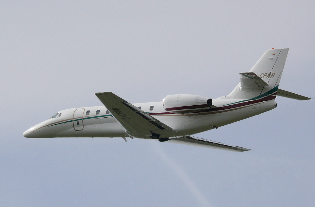 Citation 680 G-CPRR<br /> By Clive Featherstone.