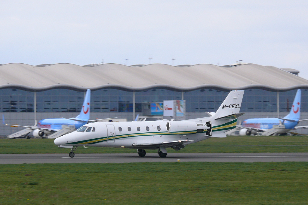Citation 560XL M-CEXL<br /> By Clive Featherstone.
