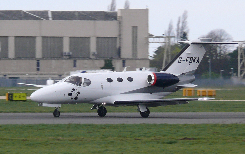 Blink Ltd Citation 510 Mustang G-FBKA<br /> By Clive Featherstone.