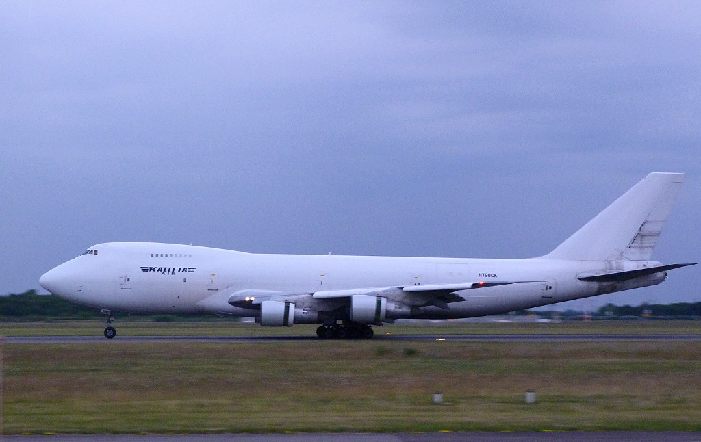 Kalitta Air 747-200 N790CK.<br /> By Clive Featherstone.