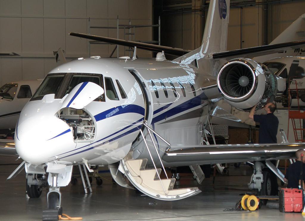 Cessna 560XL Citation Excel ex M-CEXL now Solaris Aviation ?<br /> By Correne Calow.