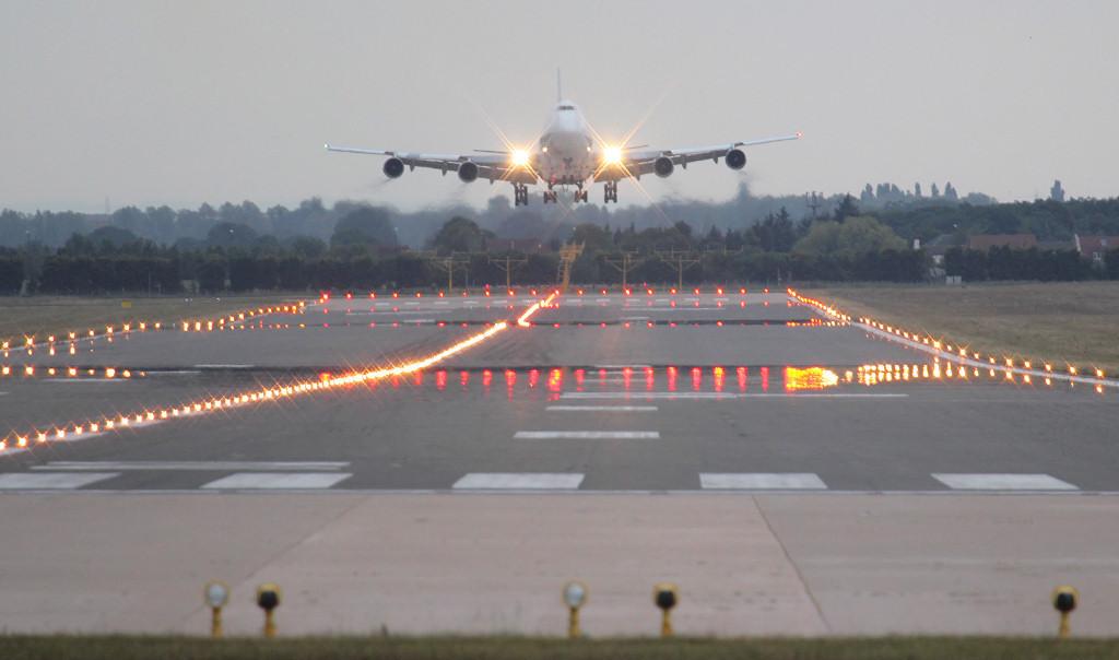 Kalitta Air 747-200 N790CK.<br /> By Jim Calow.