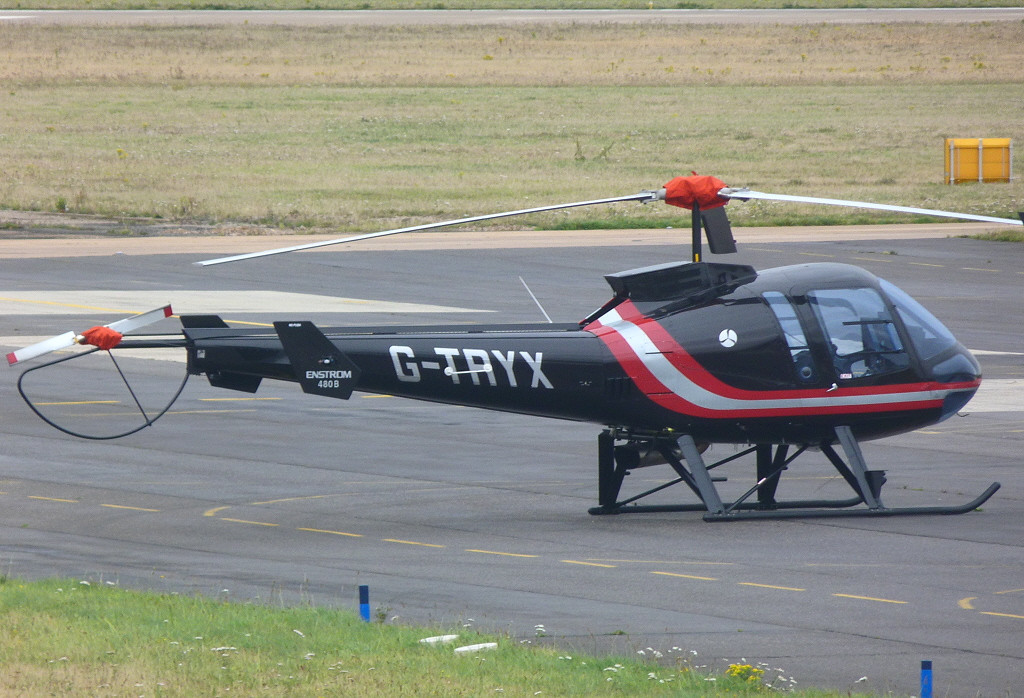 Enstrom 480B  G-TRYX<br /> By Clive Featherstone.