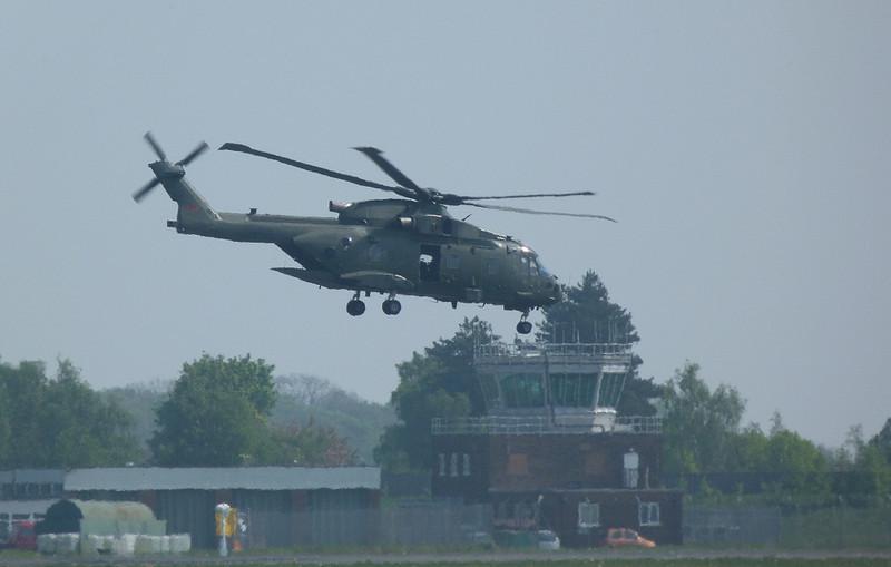 RAF Agusta Westland EH101 Merlin HC3, ZJ120 / D<br /> By Clive Featherstone.