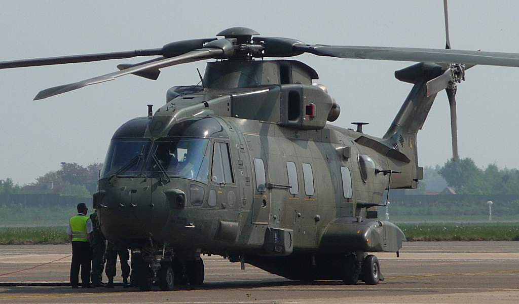 RAF Agusta Westland EH101 Merlin HC3, ZJ120 / D<br /> By Correne Calow.