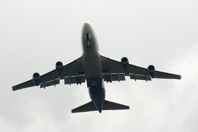 Global Supply B747-400 G-GSSC training over Bawtry<br /> By Graham Vlacho.
