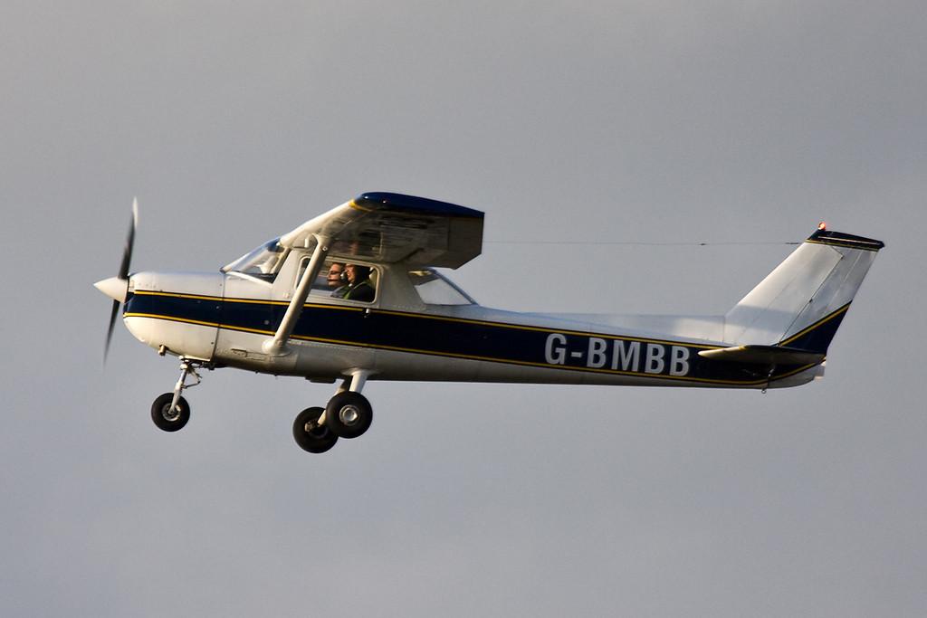 Cessna F150L G-BMBB.<br /> By David Bladen.