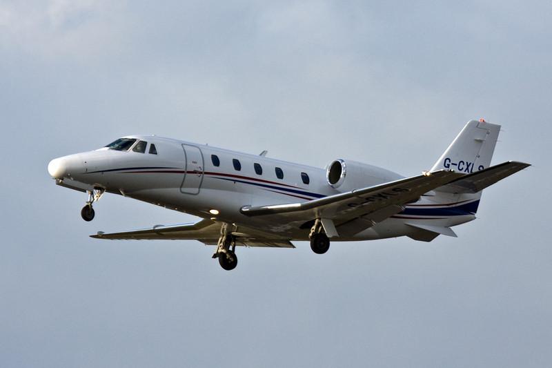 Aviation Beauport Cessna 560XL Citation Excel G-CXLS.<br /> By David Bladen.